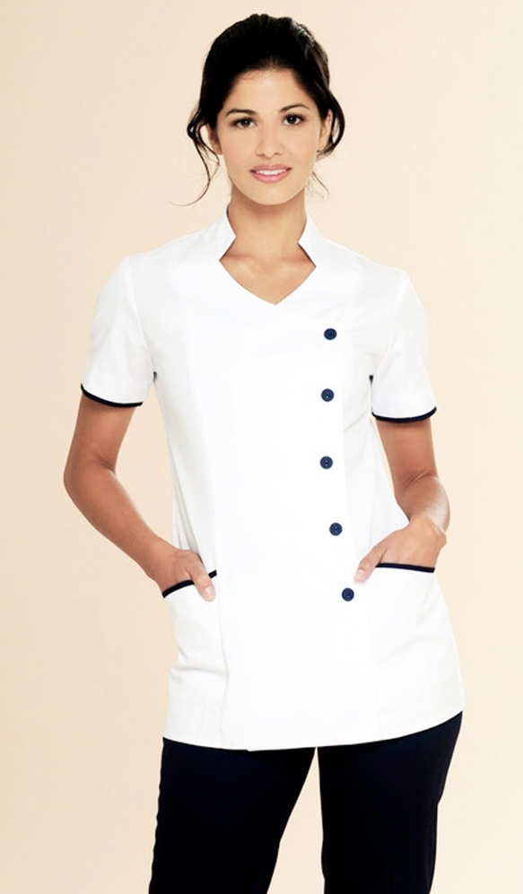 Nurses uniforms beauty spa uniforms diamond designs for Uniform design for spa